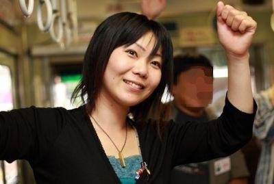 小倉沙耶さんと嵐電ワインの勉強...